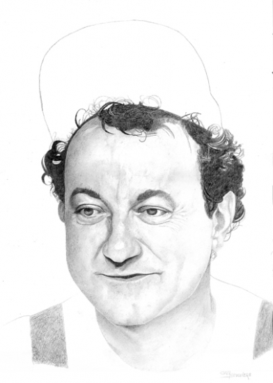 Coluche by Bubustars